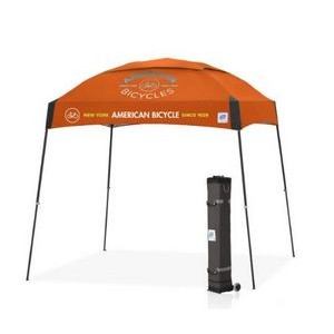 Dome® 10' x 10' Multi Color Print Tent w/ Steel Frame