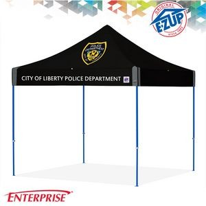 Enterprise™ 10' x 10' Digital Print Commercial Tent w/ Steel Frame
