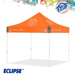 Eclipse™ 8' x 8' Color Imprint Professional Tent w/ Steel Frame