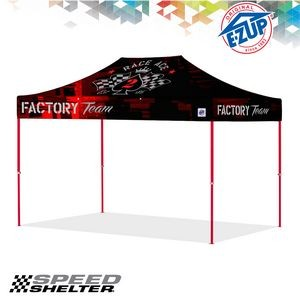 Speed Shelter® 8' x 12' Full Bleed Digital Professional Tent w/ Steel Frame