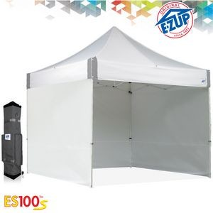 10' x 10' Commercial Tent Package w/ 4 Side Walls, Roller Bag, and Steel Frame