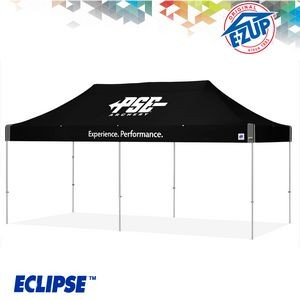 Eclipse™ 10' x 20' Color Imprint Professional Tent w/ Aluminum Frame
