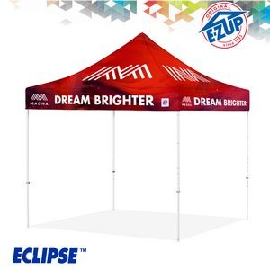 Eclipse™ 8' x 8' Digital Print Professional Tent w/ Steel Frame